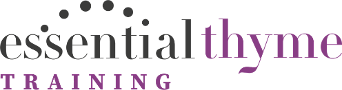 essential thyme training logo