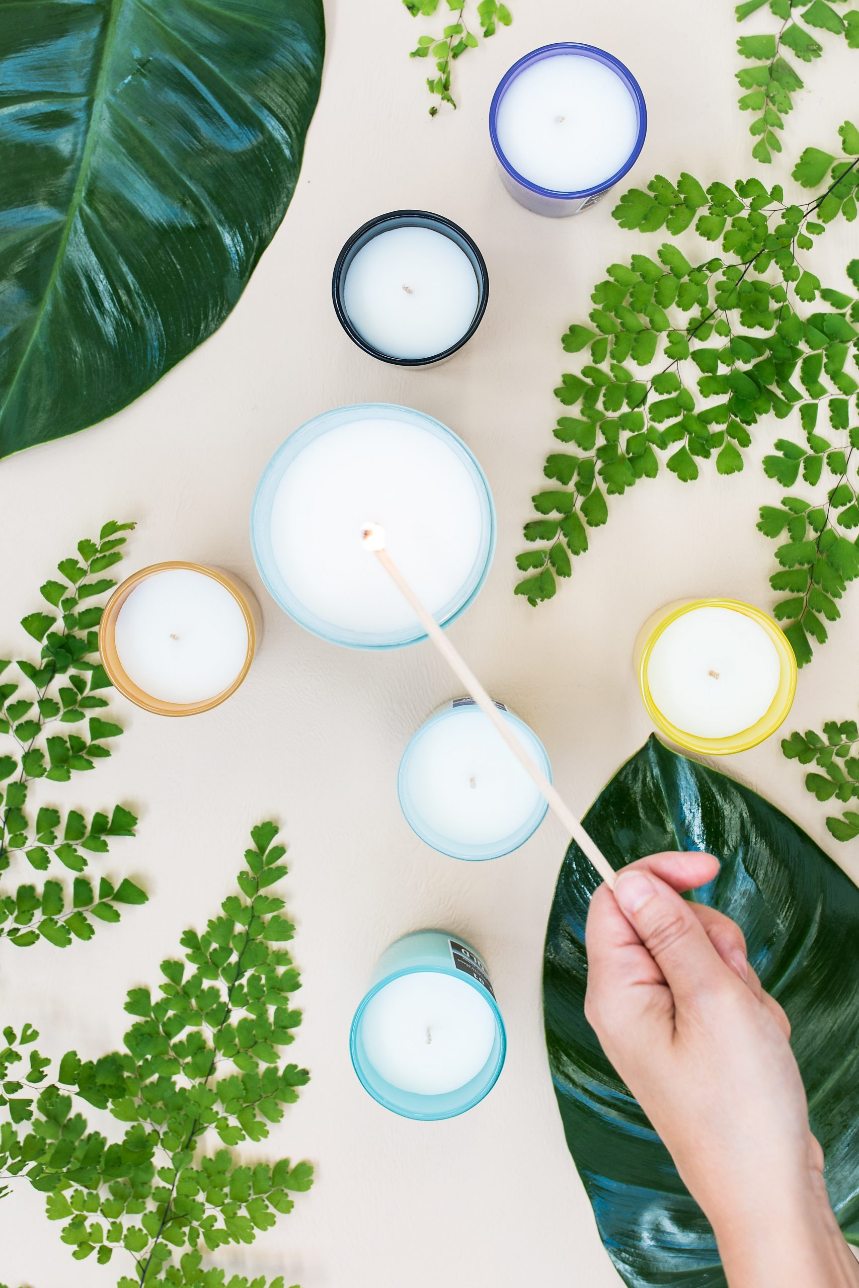 essential thyme home candles products